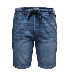 Only and Sons Korte broeken 22012455 onsrod sw shorts Blauw