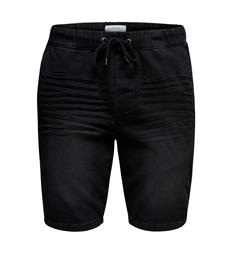 Only and Sons Korte broeken 22012457 onsrod sw shorts Zwart