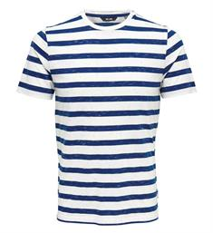 Only and Sons Korte mouw T-shirts 22012161 elky s Blauw