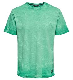Only and Sons Korte mouw T-shirts 22012624 onslance Groen