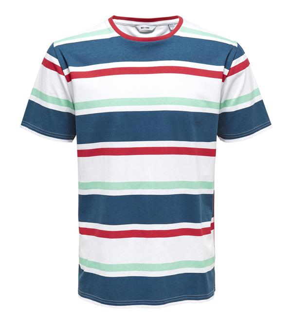 only-and-sons-korte-mouw-t-shirts-22012625-onslex-ss-reg-stripe-navy