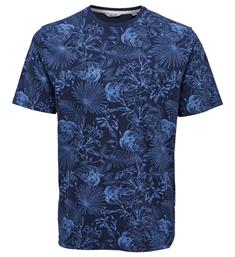 Only and Sons Korte mouw T-shirts Cpss183327 Navy