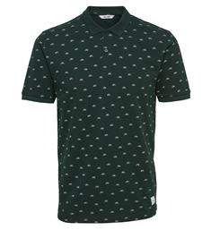 Only and Sons Polo's 22010608 micas Groen dessin