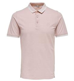 Only and Sons Polo's 22011349 stan Oud roze