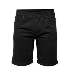 Only and Sons Shorts 22008389 Zwart