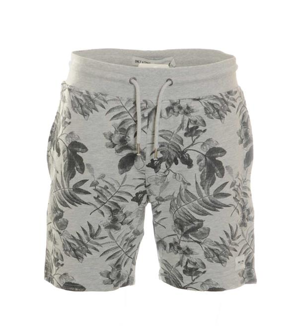 only-and-sons-shorts-22008683-hamilt-grijs-melee