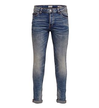 Only and Sons Slim jeans 22005078 Blue denim