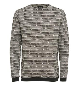 Only and Sons Sweaters 22004815 Zwart dessin