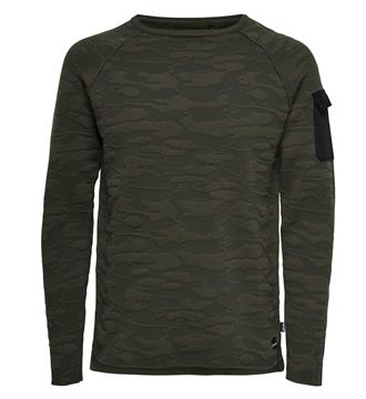Only and Sons Sweaters 22006874 tobi Army