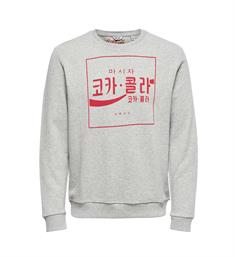 Only and Sons Sweatshirts 22009696 coca c