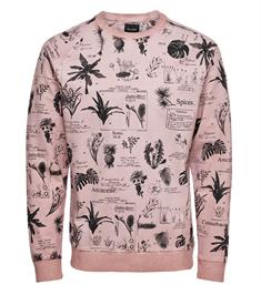 Only and Sons Sweatshirts 22010137 rogan Oud roze