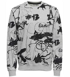 Only and Sons Sweatshirts 22010983 whitfo Grijs dessin