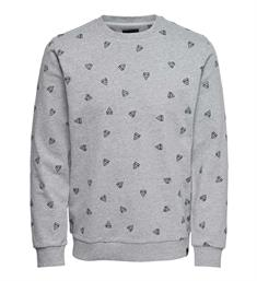 Only and Sons Sweatshirts 22011843 opus a Grijs
