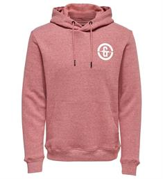Only and Sons Sweatshirts 22012250 orland Rood