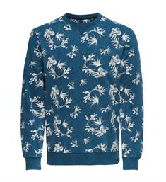 Only and Sons Sweatshirts 22012612 onsned aop washed cre Blauw