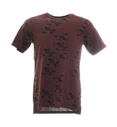Only and Sons T-shirts 22006856 hasse Bordeaux