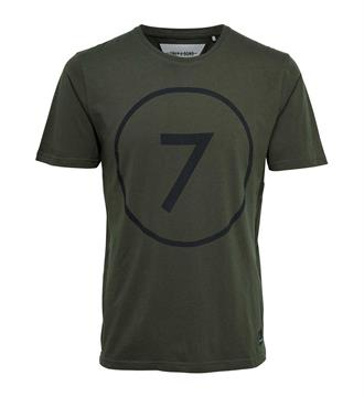 Only and Sons T-shirts 22007710 lathan Army