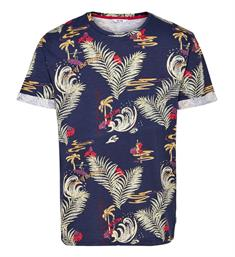 Only and Sons T-shirts 22010017 devin Navy dessin