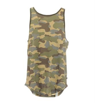 Only and Sons Tanktop 22008784 Groen dessin