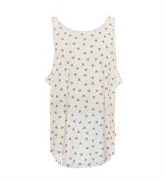 Only and Sons Tanktop 22008784 Wit dessin
