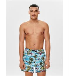 Only and Sons Zwemshorts 22012471 onstan swomshorts Aqua