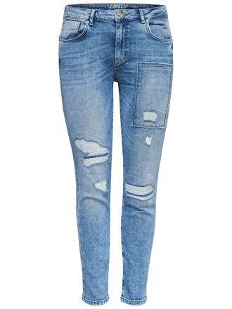 Only Baggy jeans 15129079 Blue denim