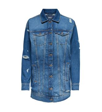 Only Denim jackets 15146777 crispy Blue denim