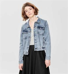 Only Denim jackets 15170680 onltia dnm jacket bb Blauw