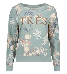 Only Fleece truien 15156155 new aj Groen dessin