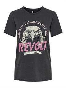 Only Korte mouw T-shirts 15240457 lucy