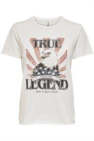 Only Korte mouw T-shirts 15242248