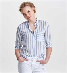 Only Lange mouw blouses 15132025 candy Ecru dessin