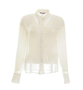 Only Lange mouw blouses 15144001 Off white