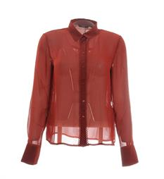 Only Lange mouw blouses 15144001 Rood