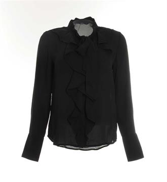 Only Lange mouw blouses 15150639 new in Zwart