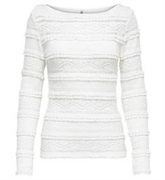 Only Lange mouw T-shirts 15173980 onlmajorie l/s Off-white