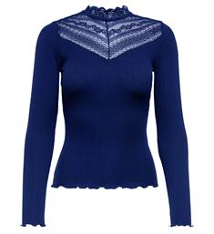 Only Lange mouw T-shirts 15189572 Blauw