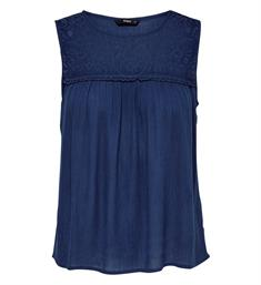 Only Singlets 15177183 onlrina s/l top Blauw