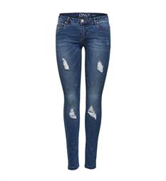 Only Skinny jeans 15148507 coral Blue denim