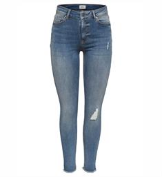 Only Skinny jeans 15151895 onlblush mid sk Blauw