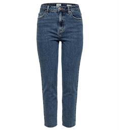 Only Straight jeans 15171549 onlemily hw st raw Blauw