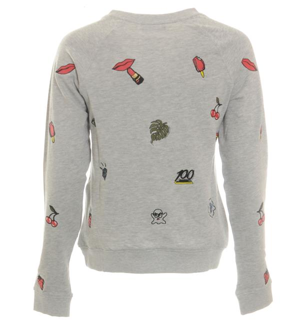 only-sweaters-15132740-grijs-melee