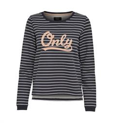 Only Sweaters 15143361 amina Blauw dessin