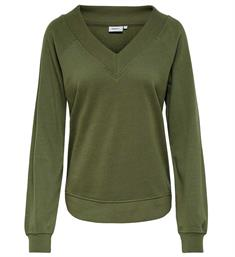 Only Sweatshirts 15173639 onlrosemary deep v Army