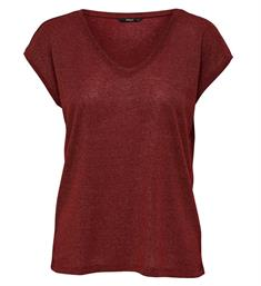 Only T-shirts 15136069 silver Bordeaux