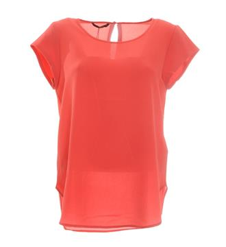 Only T-shirts 15137604 Rood