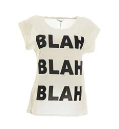 Only T-shirts 15142633 velvet Off white