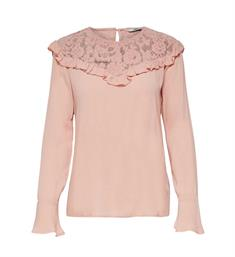 Only T-shirts 15146602 Oud roze