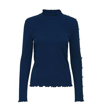 Only T-shirts 15147068 Blauw