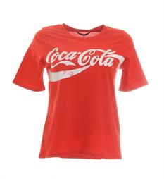 Only T-shirts 15151703 Rood